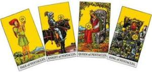 suit of pentacles
